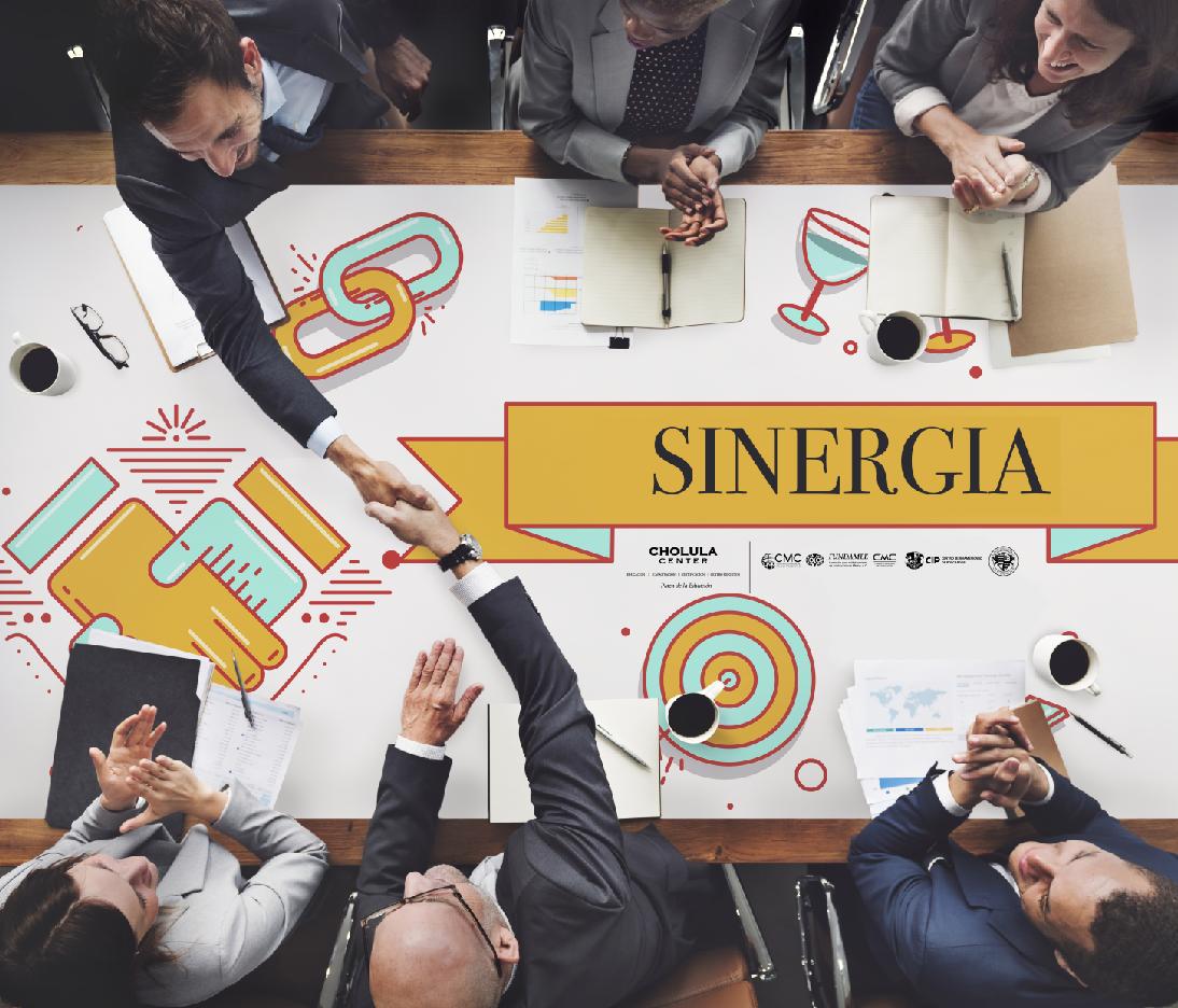 SINERGIA, el resultado principal del trabajo en equipo.